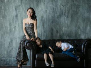 Семейная фотосессия в Алматы